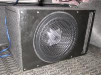 Установка сабвуфера JBL GT5-12 vented box в Nissan Teana (L33)