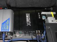Установка усилителя Audio System X 75.4 D в Nissan Murano