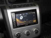 Фотография установки магнитолы Alpine INE-W990BT в Nissan Murano