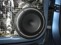 Установка акустики Audison AV K6 в Skoda Rapid