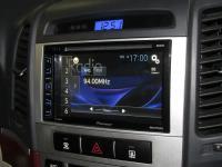 Фотография установки магнитолы Pioneer AVH-X1800DVD в Hyundai Santa Fe (II)