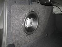 Установка сабвуфера JBL GT5-10 в BMW 5 (F10)