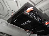 Установка усилителя Audio System X 75.4 D в BMW 5 (F10)
