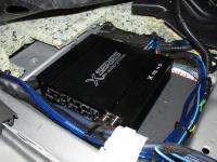Установка усилителя Audio System X 75.4 D в Nissan X-Trail (T31)