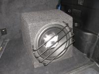 Установка сабвуфера JBL GT5-12 в Toyota Highlander