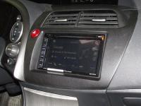 Фотография установки магнитолы Pioneer AVH-X1800DVD в Honda Civic 5D