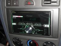 Фотография установки магнитолы Pioneer FH-X720BT в Ford Fusion