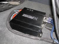 Установка усилителя Audio System X 75.4 D в KIA Sportage II (KM)