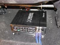 Установка усилителя Audio System X 75.4 D в SsangYong Kyron