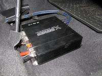 Установка усилителя Audio System X 75.4 D в KIA Rio III