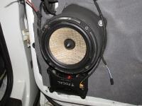 Установка акустики Focal Performance PS 165 FX в Audi Q7