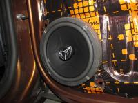 Установка акустики Hertz ECX 165.5 в Renault Duster