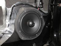 Установка акустики Morel Tempo Coax 6 в Mitsubishi Pajero Sport