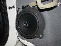 Установка акустики Hertz ECX 165.5 в Nissan Teana (L33)