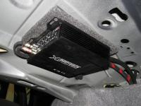 Установка усилителя Audio System X 75.4 D в BMW 3 (E90)