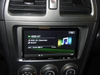 Фотография установки магнитолы Sony XAV-E70BT в Subaru Impreza