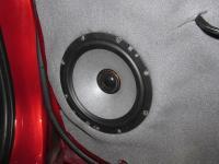 Установка акустики Morel Tempo Ultra Integra 602 в Mitsubishi Lancer X