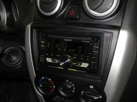 Фотография установки магнитолы Kenwood DPX-3000U в Lada Granta Liftback