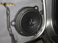 Установка акустики Hertz ECX 165.5 в Nissan Maxima