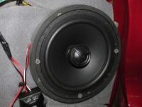 Установка акустики Morel Tempo Coax 6 в Mitsubishi ASX