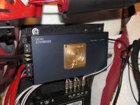 Установка усилителя Soundstream RFM700.1D в Audi A5