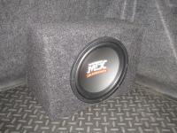 Установка сабвуфера MTX RT10-04 box в Renault Megane 2