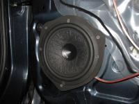 Установка акустики Hertz ESK 163L.5 в Nissan Almera III (G15)