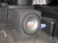 Установка сабвуфера MTX RT12-04 box в Honda Pilot