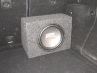 Установка сабвуфера MTX RT10-04 box в Mercedes ML (W164)