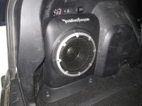Установка сабвуфера Morel Primo 104 в Mitsubishi Outlander XL