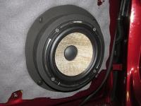 Установка акустики Focal Performance PS 165 F в Audi A4 (B9)