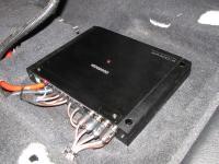 Установка усилителя Kenwood XR400-4 в Toyota Camry V50
