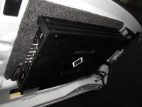 Установка усилителя Helix G FOUR в BMW 3 (F30)