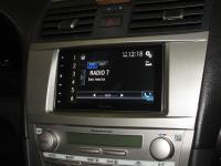 Фотография установки магнитолы Pioneer SPH-DA120 в Toyota Camry V40