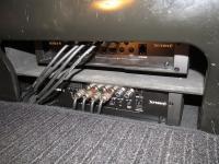 Установка усилителя Helix G FOUR в Mercedes V class (W447)