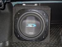 Установка сабвуфера Alpine SWS-1043D box в Chevrolet Cruze