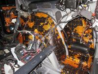 Установка Comfort Mat Dark D3 в Mercedes GL (X164)