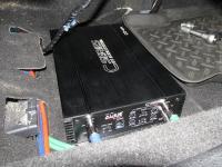 Установка усилителя Audio System CO 65.4 в Subaru Forester (SH)