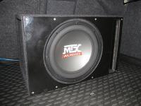 Установка сабвуфера MTX RT12-04 vented box в Volkswagen Jetta VI