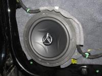 Установка акустики Hertz ECX 165.5 в Ford Kuga II
