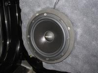 Установка акустики Eton POW 172.2 Compression в Nissan X-Trail (T32)