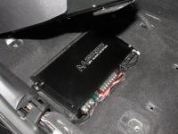 Установка усилителя Audio System M 80.4 в Nissan X-Trail (T32)