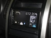 Фотография установки магнитолы Pioneer SPH-DA120 в Nissan X-Trail (T31)