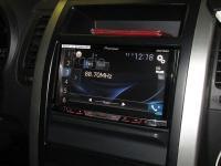 Фотография установки магнитолы Pioneer AVH-X5800BT в Nissan X-Trail (T31)