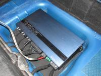 Установка усилителя Soundstream RN5.2000D в Mini Cooper S