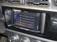 Фотография установки магнитолы Pioneer AVH-X5800BT в Toyota Corolla XI
