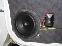 Установка акустики Morel Tempo Coax 6 в Lada Largus