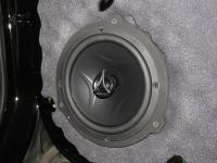 Установка акустики Hertz ECX 165.5 в Hyundai Solaris
