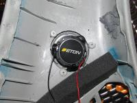 Установка акустики Eton CX 260 в Toyota Land Cruiser 200