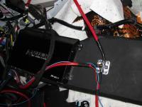 Установка усилителя Audio System M 80.4 в Toyota Land Cruiser 200